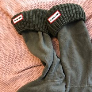 Olive Green Hunter Boot Socks